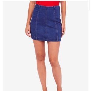 Modern Femme denim Mini Skirt—NWT